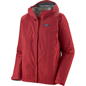 Patagonia Torrentshell 3L Giacca Uomo, rosso